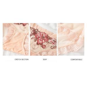 初回限定特価ショーツレディース ショーツレディース綿 刺繍 ショーツ ショーツレディース40代  ショーツレディース深め 安い ショーツ 8818DM|shop-ybj|16