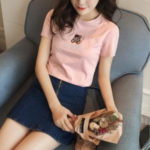 tシャツレディース 初回ユーザー限定特価 tシャツブランド tシャツオリジナル tシャツレディース半袖 半袖tシャツ tシャツ ファッション 女性 F626DM|shop-ybj|06