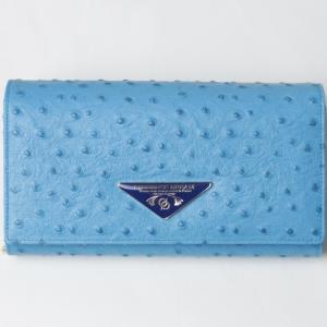 財布 レディース 長財布 Provence Dream 大容量 ポシェット クラッチバッグ 折り財布  オーストリッチ アコーディオン PD51