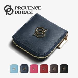 財布 レディース 折財布 本革 かわいい 小さい キューブ provence dream 小銭いれ ミニ財布  コインケース ラッピング無料 pd10