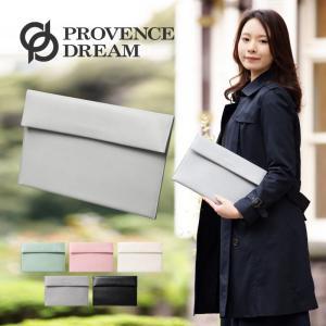 Provence Dream スリムクラッチバッグ 型押し セカンドバッグ ポーチ プロヴァンス ドリーム シンプルでベーシックなデザイン 可愛い 5色 pd601