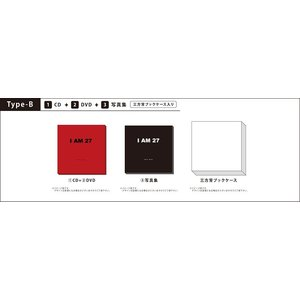 GUN WOO (MYNAME)/I AM 27<プレミアムプロダクツ:TYPE-B>*CD+DVD+写真集|shop-yoshimoto