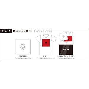 GUN WOO (MYNAME)/I AM 27<プレミアムプロダクツ:TYPE-D>*CD+Tシャツ|shop-yoshimoto|01