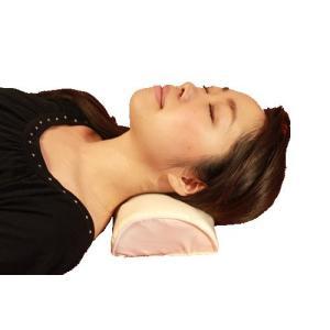ストレートネック枕「肩楽ピロー」