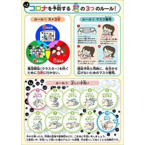 コロナウイルス感染予防ポスター(耐水屋外対応) shop-yukia