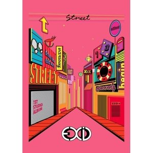 EXID - STREET 1ST STUDIO ALBUM|shop11