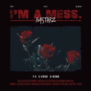 BLOCK B BASTARZ I'M A MESS 3RD MINI ALBUM ブラック ビー 3集 ミニ【送料無料】|shop11