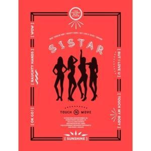 SISTAR  - TOUCH & MOVE 2ND MINI ALBUM|shop11