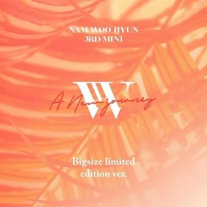 NAM WOO HYUN - A NEW JOURNEY 3RD MINI ALBUM BIG SIZE [LIMITED EDITION VER.]ナム ウヒョン【チャート即時反映店】【先着ポスター丸め|宅配便】|shop11