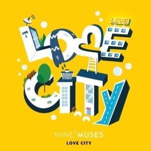 NINE MUSES DIARY PART.3 LOVE CITY REPAKAGE MINI ALBUM【レビューで生写真5枚】【宅配便】|shop11
