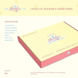 【2018年 カレンダー】LOVELYZ 2018 SEASON GREETING|shop11