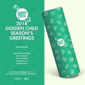 【2018年 カレンダー】GOLDEN CHILD- 2018 SEASON S GREETING ゴルデン チャイルド 2018年 カレンダー CALENDAR【宅配便】|shop11