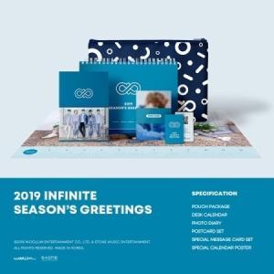 INFINITE 2019 SEASON GREETING 【レビューで生写真5種】【送料無料】|shop11