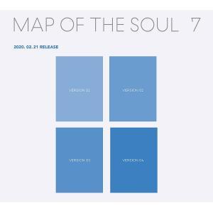 【4種セット|全曲和訳】BTS MAP OF THE SOUL 7 防弾少年団 セブン【先着ポスター4種丸め|レビューで生写真5枚|宅配便】|shop11