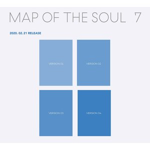 【VER選択|全曲和訳】BTS MAP OF THE SOUL 7 防弾少年団 セブン【先着ポスター丸め|レビューで生写真5枚|宅配便】|shop11