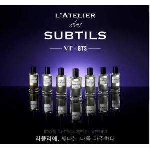 【VER選択】BTS 香水 VT X BTS L'ATELIER DES SUBTILS PERFUME 防弾少年団 香水 パフューム【レビューで生写真5枚】【送料無料】|shop11