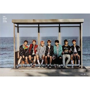 BTS WINGS PT2 YOU NEVER WALK ALONE POSTER 2枚 セット 防弾少年団 ポスター 【発送】|shop11