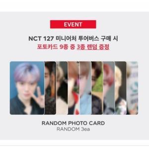 【PHOTOCARD】NCT 127 MINIATURE NEO CITY TOUR BUS ランダム メンバー カード 3種 (CARDのみ)|shop11