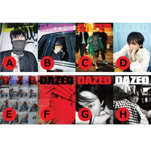 【VER選択】【和訳選択】2021年 4.5月号 DAZED G-DRAGON GD ジドラゴン 画報 インタビュー 韓国 雑誌 マガジン Korean Magazine【送料無料】|shop11
