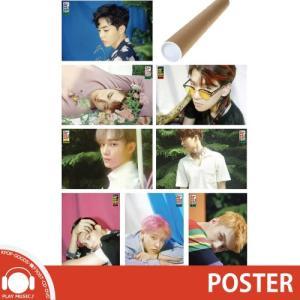 EXO THE WAR 4TH ALBUM POSTER エクソー ザウォー 4集 正規 アルバム ポスター|shop11