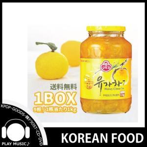 オットゥギ  三和 ゆず茶(蜂蜜含有) 1kg 【1BOX (9瓶入り)】◆ 韓国茶 【韓国食品】|shop11
