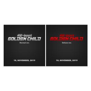 【2種セット】GOLDEN CHILD 1ST ALBUM RE-BOOT NORMAL DELUXE ゴールデンチャイルド 1集 アルバム 【宅配便】|shop11