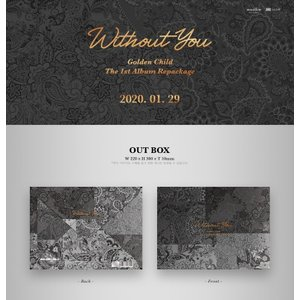 GOLDEN CHILD WITHOUT YOU 1st ALBUM REPACKAGE ゴルデン チャイルド 1集 リパッケージ【先着ポスター丸め|宅配便】|shop11
