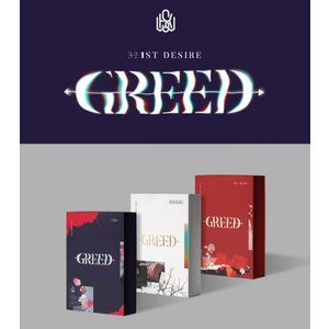 KIM WOOSEOK DESIRE GREED 1st ALBUM キム ウソク 1集アルバム【送料無料】ポスター無しで格安 shop11