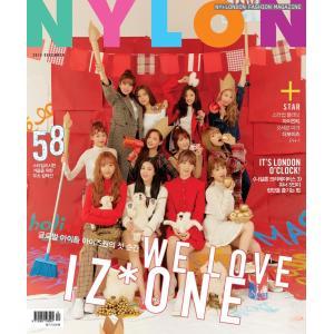 2018年 12月号 NYLON COVER IZ ONE 画報 インタビュー 韓国 雑誌 マガジン Korean Magazine 【レビューで生写真5枚】|shop11