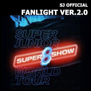 【SUPER SHOW 8|公式グッズ】SUPER JUNIOR FANLIGHT VER.2 OFFICAL スーパージュニア ペンライト 【レビュー生写真5枚|宅配便】