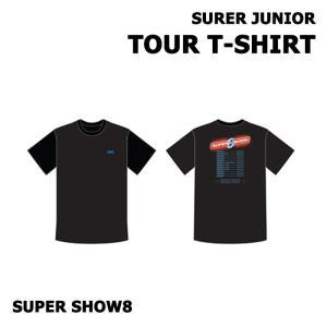 【SUPER SHOW 8|公式グッズ】SUPER JUNIOR TOUR T-SHIRT スーパージュニア T-シャツ【レビュー生写真5枚|宅配便】|shop11