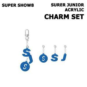 【SUPER SHOW 8|公式グッズ】SUPER JUNIOR ACRYLIC CHARM SET スーパージュニア チャーム【レビュー生写真5枚|宅配便】|shop11