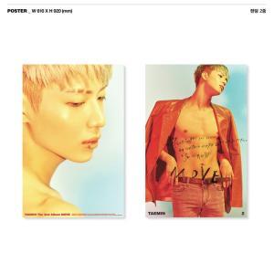 TAE MIN MOVE 2ND ALBUM POSTER 2枚 セット 【発送】【レビューで生写真5枚】|shop11
