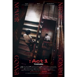 最優先発送【2種セット|全曲和訳】TAEMIN Never Gonna Dance Again ACT1 3rd Album テミン 3集【先着ポスター2種丸め|レビューで生写真5枚|宅配便】|shop11