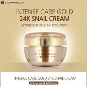 [TONYMOLY] INTENSE CARE GOLD 24K SNAIL CREAM  トニーモリー スネイル スネイル クリーム|shop11