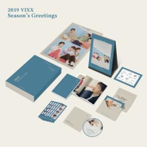 【2019年 カレンダー】ビックス VIXX SEASON S GREETING 2019年 カレンダー CALENDAR【レビューで生写真5枚】【宅配便】|shop11