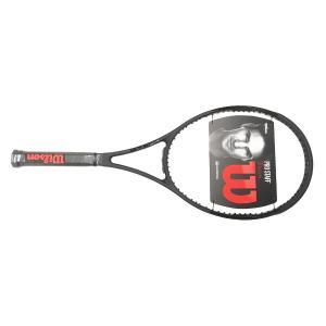 プロスタッフ 97 CV 2017 ブラック (PRO STAFF 97 CV BLACK)【ウィルソン Wilson テニスラケット】【WRT73911 海外正規品】