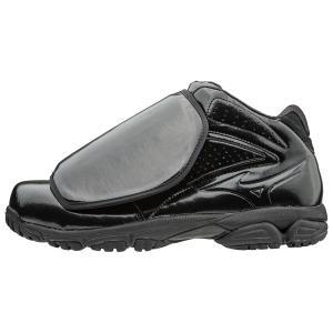 ミズノプロ 野球 ソフトボール 審判 アンパイア 球審用 シューズ 靴 11GU160100 ブラック shop310