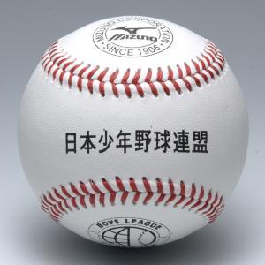 ミズノ 硬式野球ボール 日本少年野球連盟 ボーイズリーグ試合球 1BJBL71100 1ダース