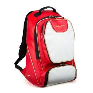 ミズノプロ 野球 バックパック デイパック リュック 1FJD900062 レッド 新製品 shop310