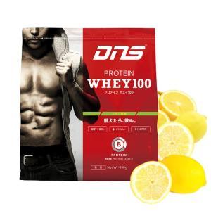 DNS 安い 激安 特価 プロテイン ホエイ100 レモン風...