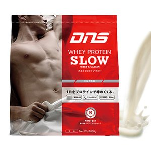 DNS ホエイプロテイン スロー ミルク風味 1kg 1000g あすつく