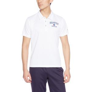 チャンピオン 半袖ポロシャツ C3-KS336-010 ホワイト ベーシック アスレチック 抗菌 防臭|shop310