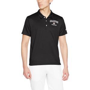 チャンピオン 半袖ポロシャツ C3-KS336-090 ブラック ベーシック アスレチック 抗菌 防臭|shop310