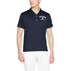 チャンピオン 半袖ポロシャツ C3-KS336-370 ネイビー ベーシック アスレチック 抗菌 防臭|shop310