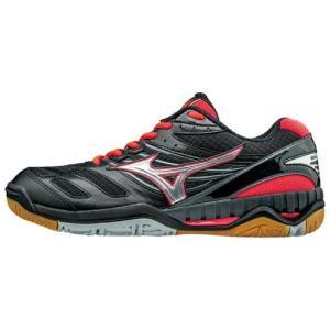 ミズノ バレーボール シューズ ウェーブ ライディーン V1GA1620 03 ブラック シルバー ピンク ゆったり 快適な 履き心地|shop310