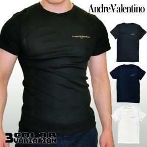 Andre Valentino サイドメッシュ 吸汗速乾 メンズインナー 丸首 3カラー 送料無料 ...