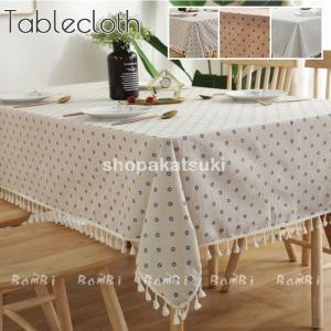 テーブルクロス 北欧 おしゃれ テーブルセッティング 白 リネン 布 正方形 長方形 オーダー