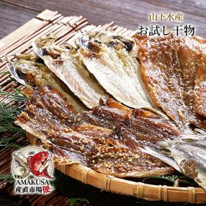 お試し 干物食べ比べセット  送料無料 みりん干し 塩干し 山下水産  干物|shopamakusa