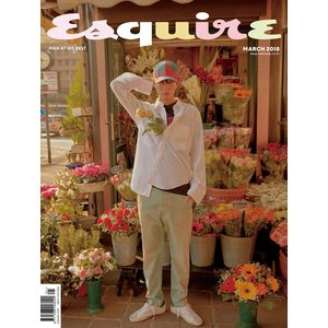 ESQUIRE 3月号(2018) 表紙,画報,インタビュー: パクボゴム /日本国内発送|shopandcafeo|02